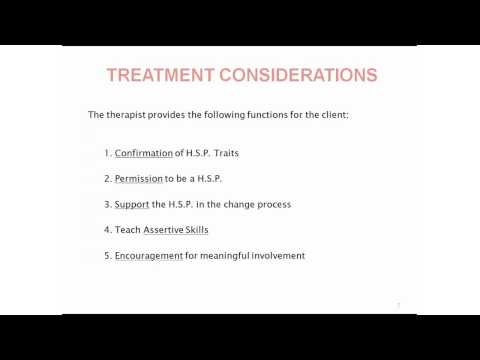 Identifying and Treating the Highly Sensitive Person - Dr. Gary Linker