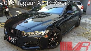 2016 Jaguar XE R-Sport; Exterior, Interior e Test Drive