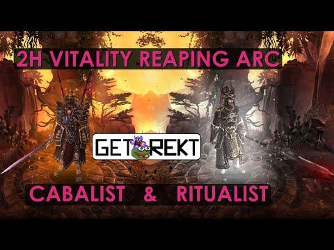 [HC] Grim Dawn Build Highlight - Reaping Arc vitality Cabalist & Ritualist