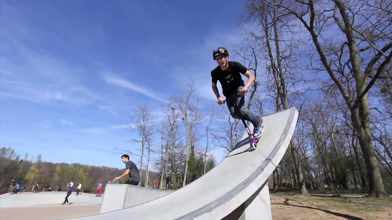 TEAM BLAZER PRO  SESSION BOISLEROI  YouTube ~ Skatepark Bois Le Roi