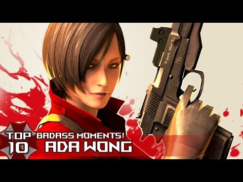 """TOP 10 BADASS """"ADA WONG"""" Moments in Resident EviL Series!"""