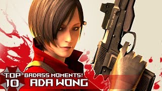 "TOP 10 BADASS ""ADA WONG"" Moments in Resident EviL Series!"