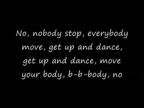 Faber Drive - G-Get up and dance Lyrics