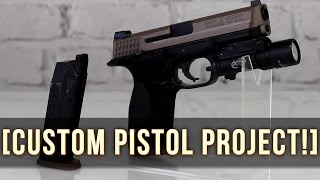 AWESOME CUSTOM PISTOL PROJECT! | TOKYO MARUI M&P 9! | CQB GAMEPLAY!