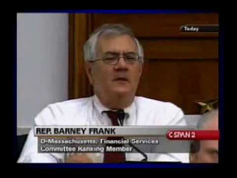 Question? What is the difference between Barney Frank and Elmer Fudd?