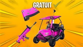 "How to get the ""PETITS CURS"" weapon skin for FREE on Fortnite? (In 20sec)"