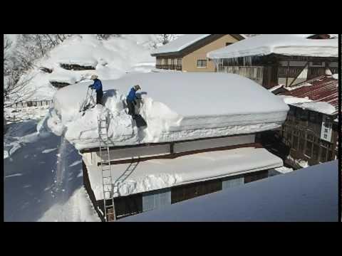 Life with Snow Yukioroshi雪おろし