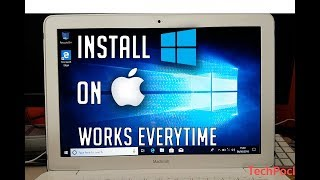 Install Windows 10 on (ANY) Mac WITHOUT BootCamp (2018)
