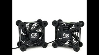 AC Infinity Quiet Dual USB Fan