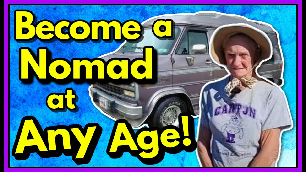 INTERVIEW & TOUR- SIMPLE LOW BUDGET VAN BUILD. BECOME A NOMAD AT ANY AGE!
