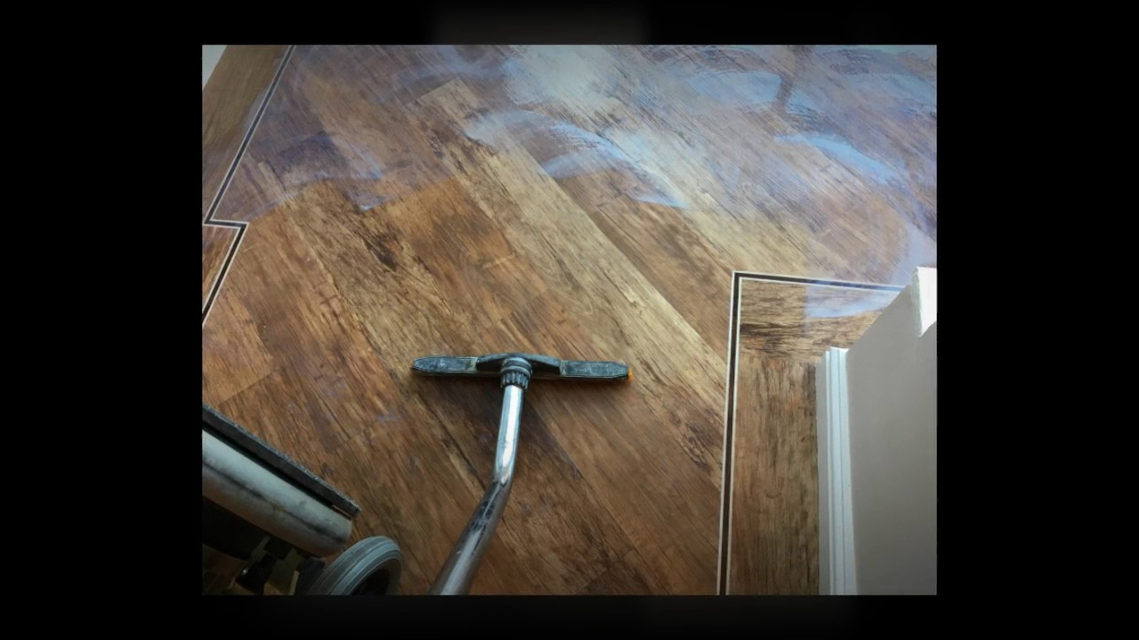 how to clean a karndean floor