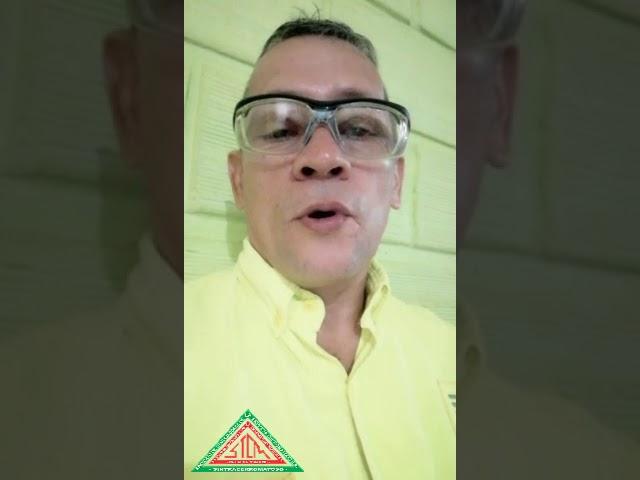 Mensaje de Omar Torres Vicepresidente de SINTRACERROMATOSO
