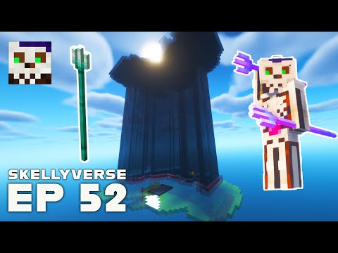 Drowning For Tridents! - MineCraft SMP (Skellyverse) S01E52
