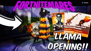 Best Fortnitemares  Llama Opening Fortnite Save The World