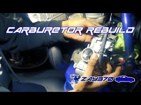YZ250 Carburetor (Keihin PWK38) Rebuild and Clean