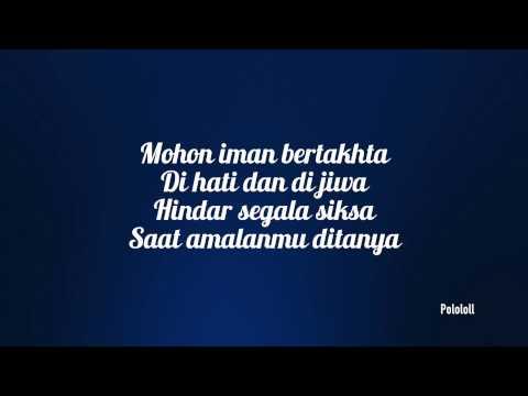 Lirik Saksi - Rabbani Feat Mawi