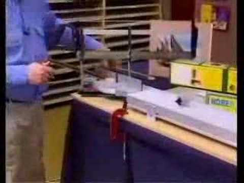 Making Picture Frames - Frame Cutting - YouTube