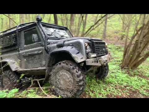 DefArt Семиозёрье на Land Rover Defender 90
