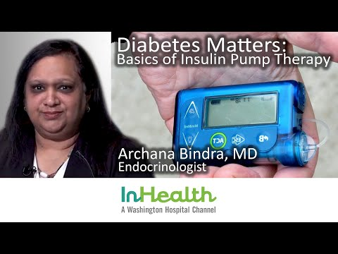 Diabetes Matters: Basics of Insulin Pump Therapy