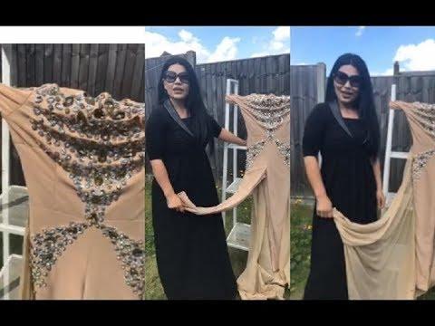 آریانا سعید لباس های که باعث مشکلات جدی در افغانستان شده بود به آتش زد