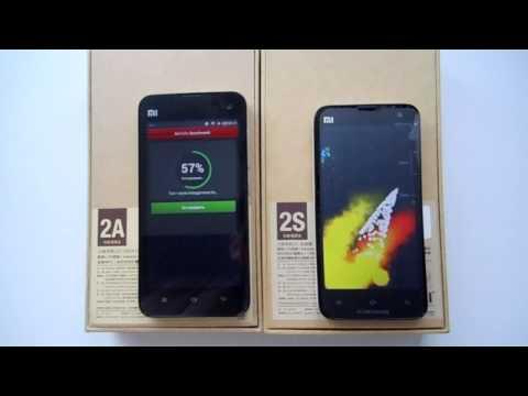 Antutu Benchmark тест Смартфонов Xiaomi Mi2A и Xiaomi Mi2S