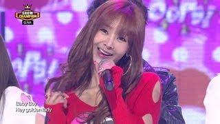 G.NA(feat. BTOB Jung Il-hoon) - Oops!, 지나(feat. BTOB 정일훈) - 웁스, Show champion 20130403