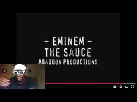 Eminem - The Sauce | REACTION
