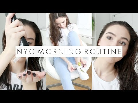 The Most Basic NYC College Morning Routine Of 2019 || BeautyChickee