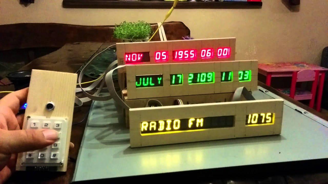 Time Circuits Dashboard Clock Screenshot