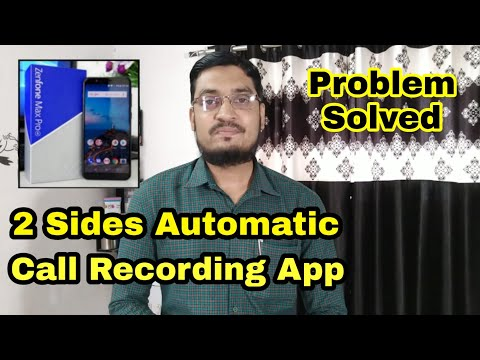 Best Call Recording App For Asus Zenfone Max Pro M1 || Best Call Recording App For Both Sides
