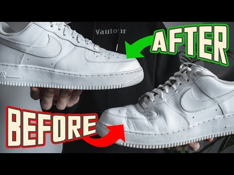 How To PERFECTLY Get Creases Out Of Air Force 1s w/Bonus Tips!