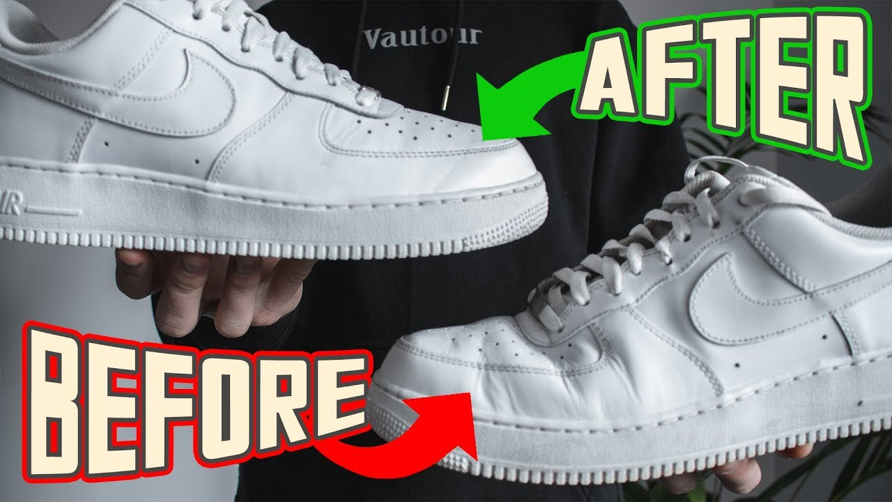How To PERFECTLY Get Creases Out Of Air Force 1s wBonus Tips!