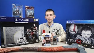 God Of War PS4 Pro Limited Edition Unboxing