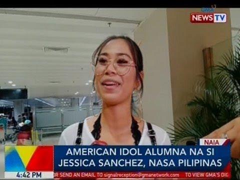 BP: American Idol alumna na si Jessica Sanchez, nasa Pilipinas