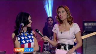 Marina and the Diamonds - Hollywood (Live GMTV & short interview 04/02/2010.