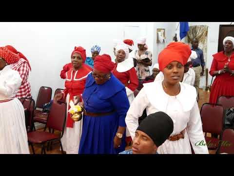 Dr. Derrick @ St John's  Spiritual Baptist Church Revival Service