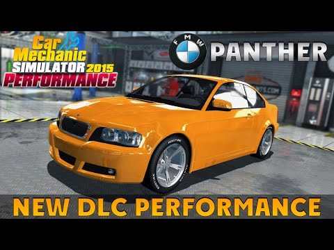 Car Mechanic Simulator 2015 NEW DLC PERFORMANCE - FMW PANTHER |