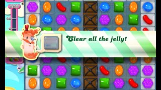 Candy Crush Saga Level 1163 walkthrough (no boosters)