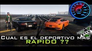 GTA V Online - Test Exacto de Velocidad | Nuevo Seven70 vs Massacro, El rey de los deportivos es...