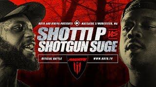 KOTD - Shotti P vs Shotgun Suge - #MASS3