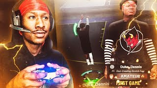 Duke Dennis VS TRASH TALKER! TRASH TALKER EXPOSED NBA 219! I have the BEST BUILD ON NBA 2K19!