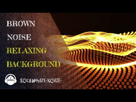 Brown Noise Sound ❌ Noise Blocker for Sleep, Concentration or Tinnitus