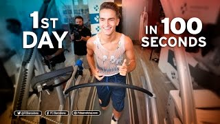 Denis Suárez's first day at FC Barcelona in 100 seconds