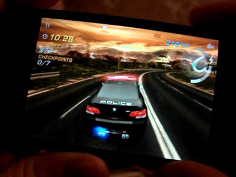 nfs hot pursuit for iphone 4