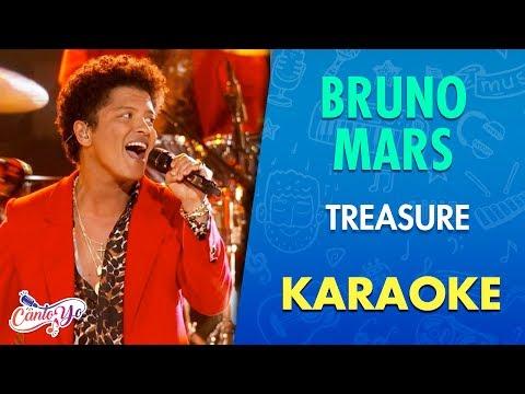 Bruno Mars -  Treasure (Karaoke) | CantoYo