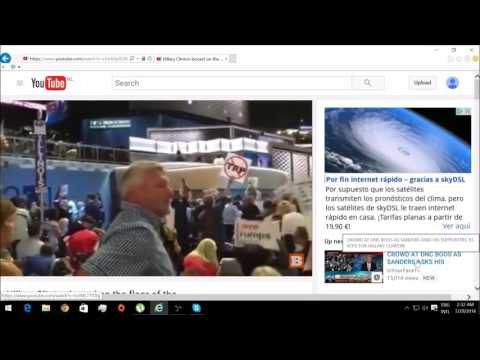 Hillary Clinton Democratic National Convention Youtube Channel Hack