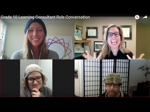 Grade 10 Learning Consultant Role Conversation