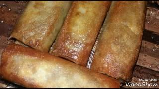 طريقة تحضير البوراك الجزائري باللحم المفروم و كيفية الاحتفاظ به في المجمد (شهيوات رمضان 2017)
