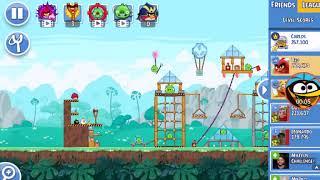 Angry birds Friends-Torneio dos fãs! Parte 2! ( Nivel 6)