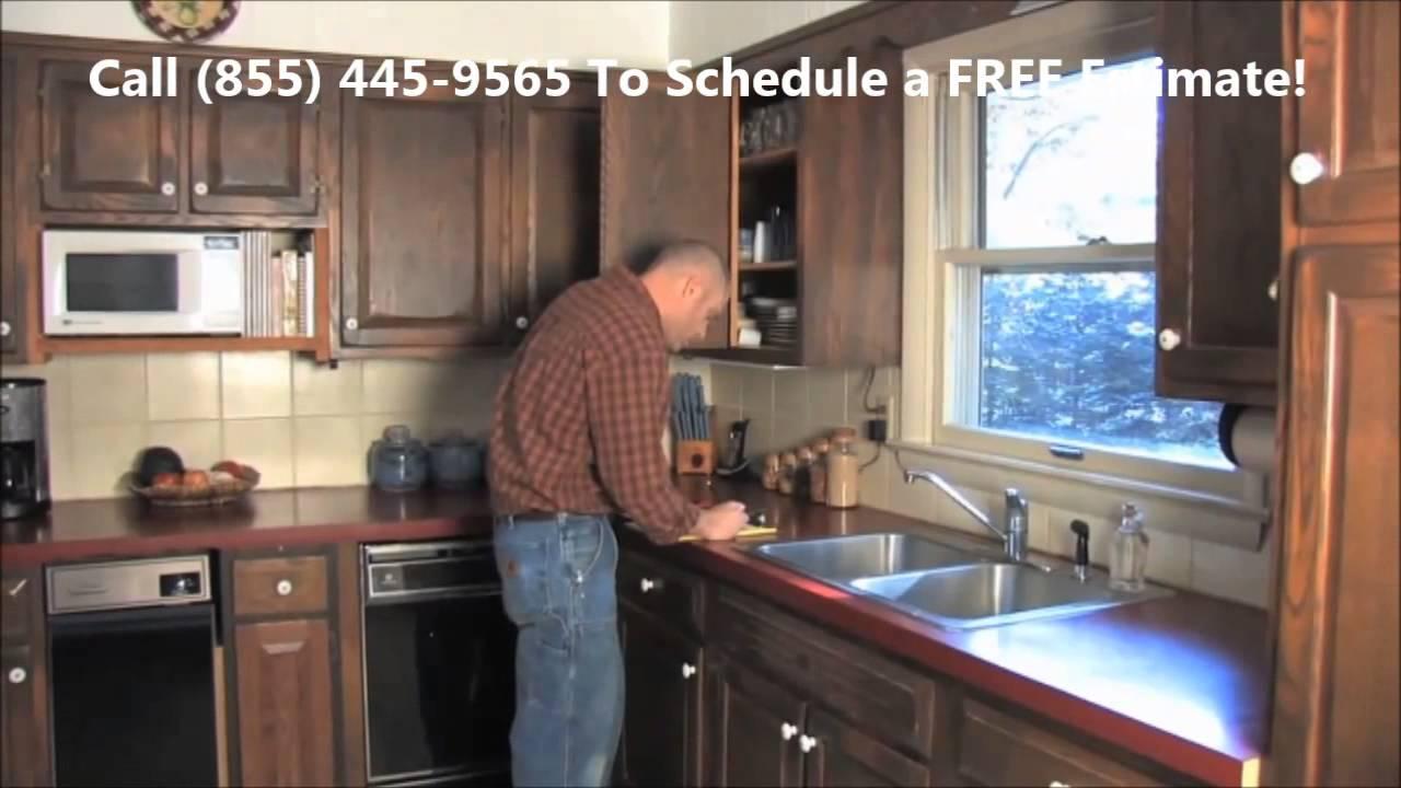 Cabinet Refinishing Atlanta - Call (855) 445-9565 Atlanta Cabinet ...